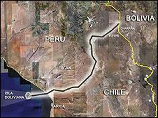 Acesso ao Oceano Pacífico é uma reivindicação boliviana há 130 anos