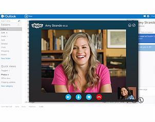 El nuevo Outlook agregará varias redes sociales para checar en un solo click fotos, actualizaciones y próximamente poder conversar en vivo a través de Skype. (Foto: Archivo El Universal )