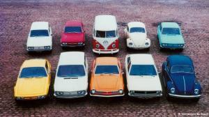 Clássicos modelos de sucesso da Volkswagen do Brasil