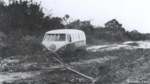 Kombi foi o primeiro automóvel da VW produzido no Brasil
