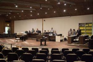 El tribunal de São Paulo encargado de juzgar la matanza. / SEBASTIÃO MOREIRA (EFE)