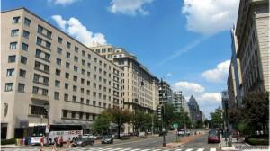 Rua K, em Washington, é a 'meca' dos lobistas, reunindo advogados e consultores políticos