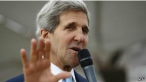 Secretário de Estado tentará superar 'incidentes' como o bloqueio ao avião de Evo Morales
