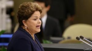 Dilma classificou espionagem como 'violação dos direitos humanos' e desrespeito à soberania