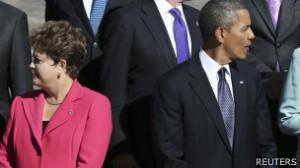 Dilma entrou no alvo da espionagem americana; cerca de 35 líderes podem ter sido espionado.