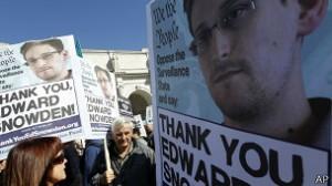 O ex-colaborar da NSA, Edward Snowden, vazou os documentos que geraram escândalo.