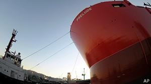 Prelude será usada na exploração de gás natural