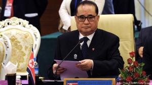 Ri Su Yong, ministro do Exterior da Coreia do Norte
